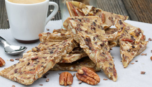 Pecan & Caramel Bark