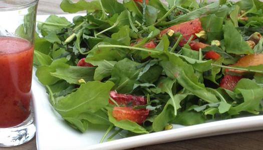 Blood Orange Rocket Salad