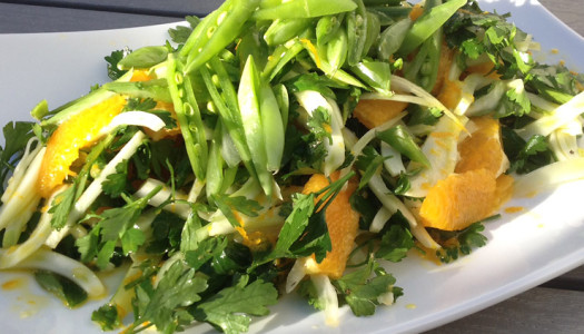 Orange, Fennel & Parsley Salad