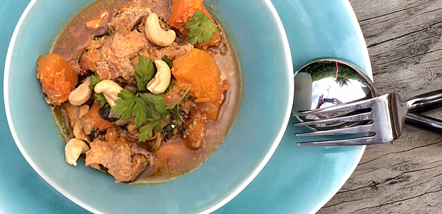 Easy Red Pork Curry