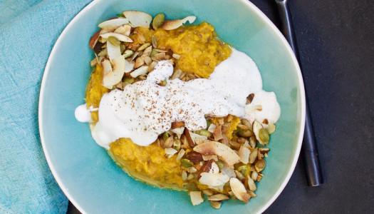 Sweet pumpkin 'porridge'